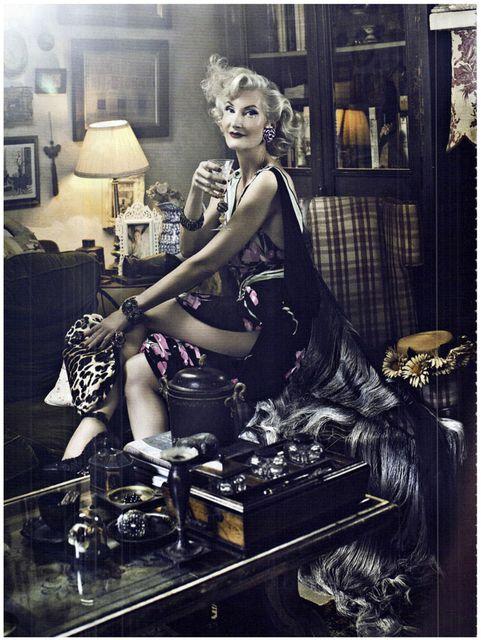 Signe Vilstrup for Vanity Fair, stylist Simone Guidarelli, tuscany itali