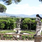 italian garden florence italy