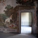 palace 600 mural painting frescos abandoned interior tuscany italy