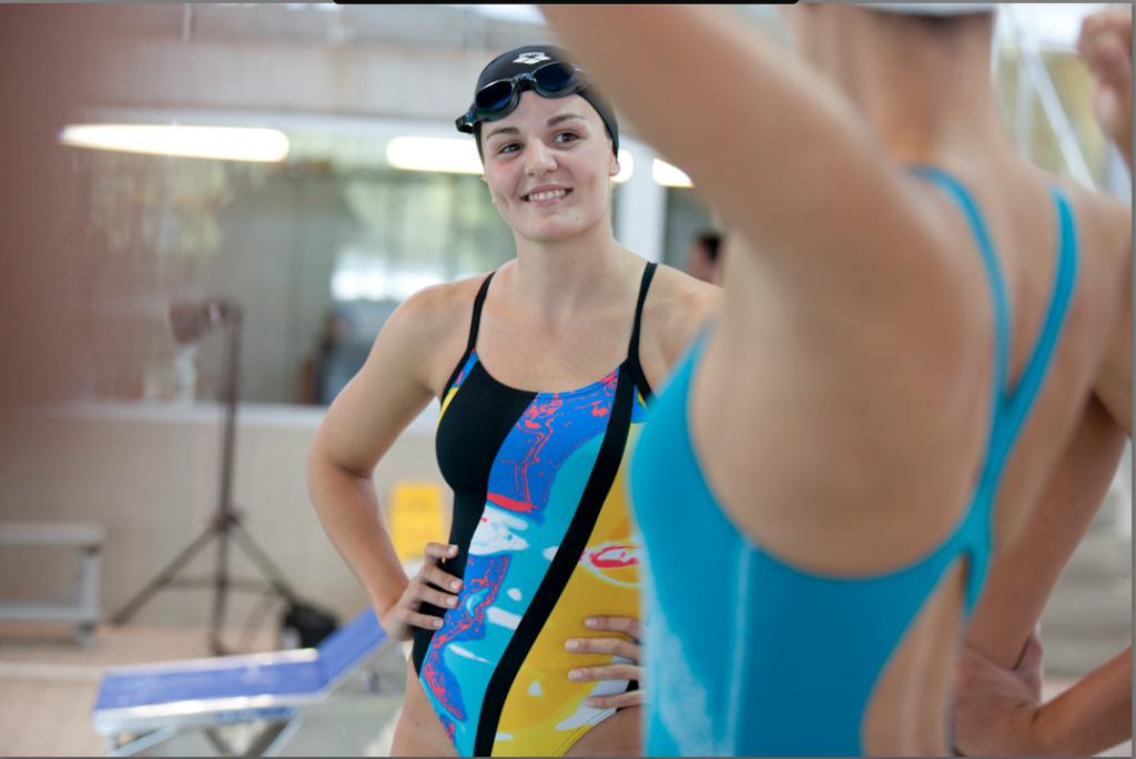 arena international advertising campaign barcelona 2012 swimwear swimming pool competition riccardo cavallari
