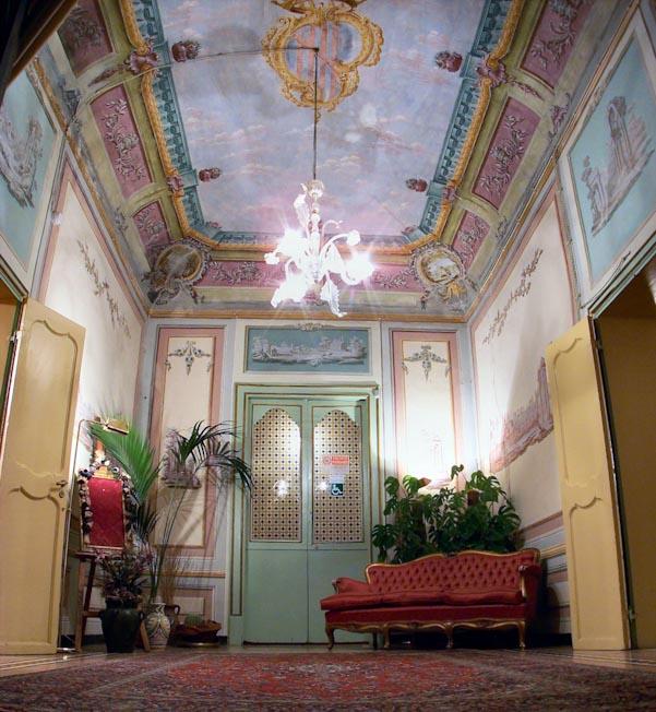 interior baroque sicily palermo italy
