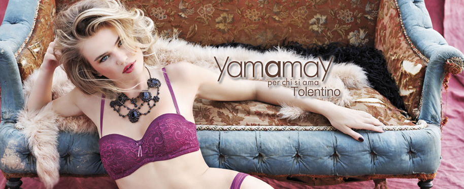 milou sluis for yamamay photo giovanni gastel make up anna maria negri stylist simone guidarelli