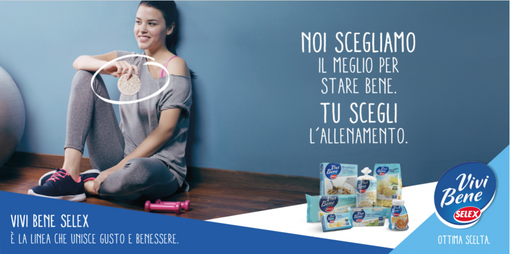 Selex advertising campagn selex campagna stampa